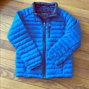 VGC Boys LL Bean Down Jacket size 6x/7